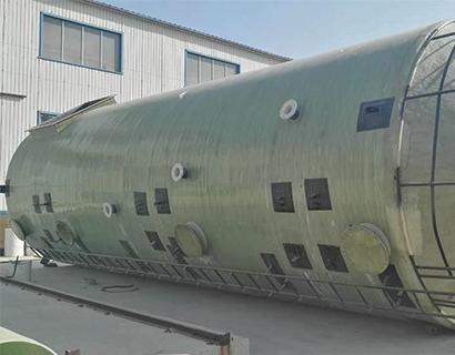 玻璃钢洗涤塔在煤气化工业的应用实例
