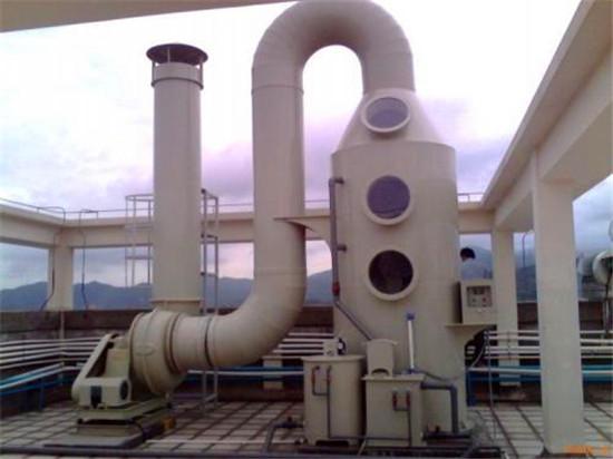 盘点:工业废气洗涤塔的废气处理方法