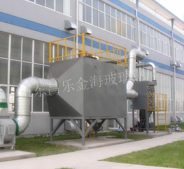 塑料厂废气洗涤塔的特点及原理